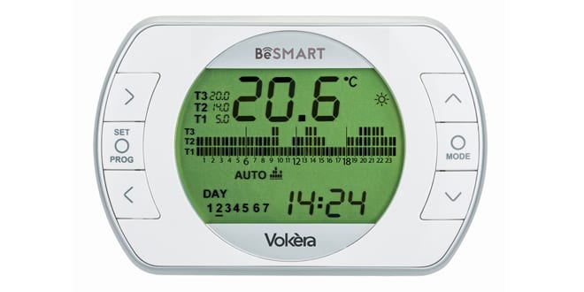 Popular - Vokèra launches new BeSMART Wi-Fi enabled thermostat