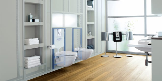 Popular - Sales of water-saving bathroom products have risen by 25%