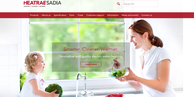 heatrae sadia website