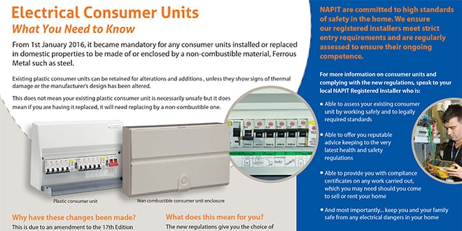 Popular - NAPIT launches leaflet for installers to help customers get to grips with Amendment 3
