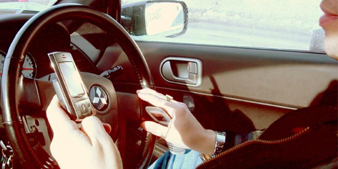 phones driving