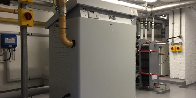 Popular - Alpha Heating ARES Tec 200kW installed to heat head office