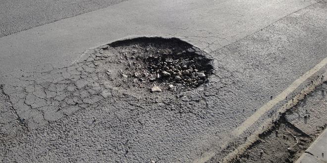 pothole web