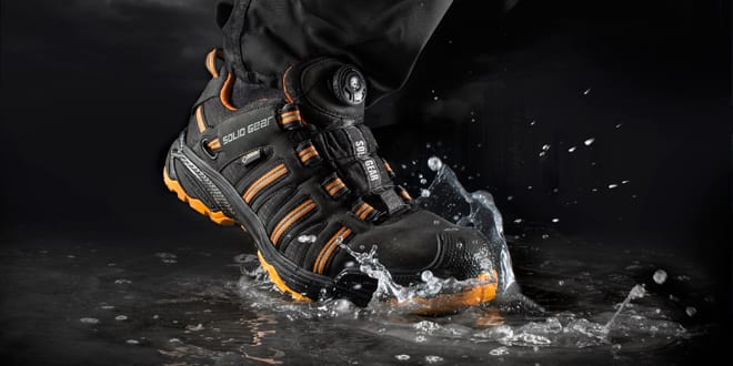 Popular - New from Snickers – The Solid Gear Hydra GTX Safety Shoe