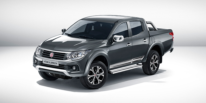 All new FIAT Professional Fullback will make UK debut at Commercial Vehicle Show