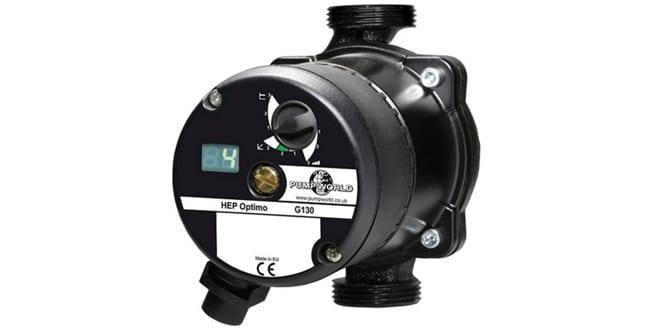 Popular - Pump World exhibiting all-new HEP Optimo smart pump at Installer2016