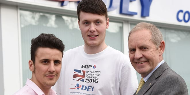 Popular - UK Heating Apprentice of the Year unveiled
