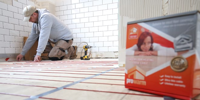 Popular - Top tips for installing electric underfloor heating systems