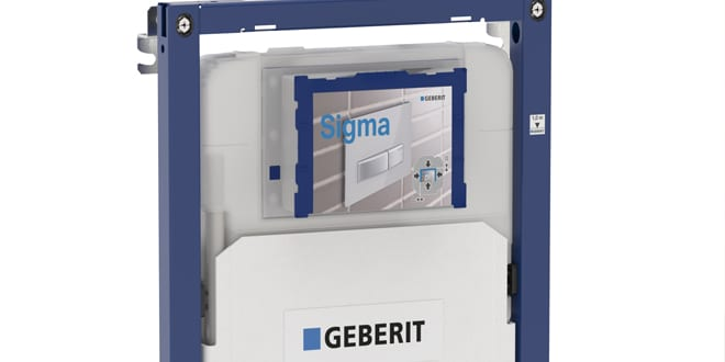 Popular - Geberit Duofix Sigma 8cm framing system now faster and simpler to fit