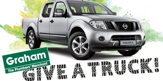 Popular - Win a Nissan Navara with the Graham Give a Truck competition