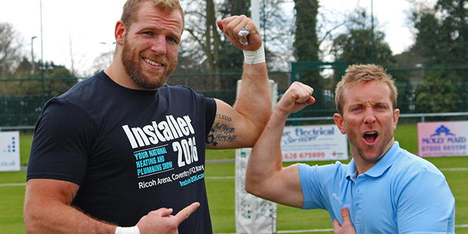 Rugby vs Plumbing – James Haskell vs Plumberparts