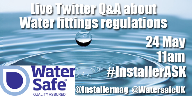 Watersafe #InstallerASK