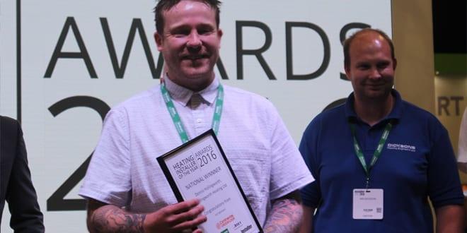 Popular - Dennis Hollingworth named Heating Installer of the Year
