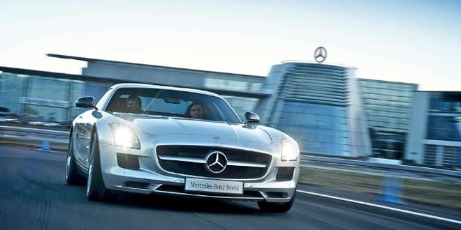Popular - Win a track day at Mercedes Benz world with Bublshop and LG