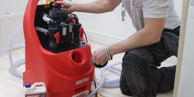 Popular - Sentinel launches new powerflushing machine – the JetFlush Rapid®