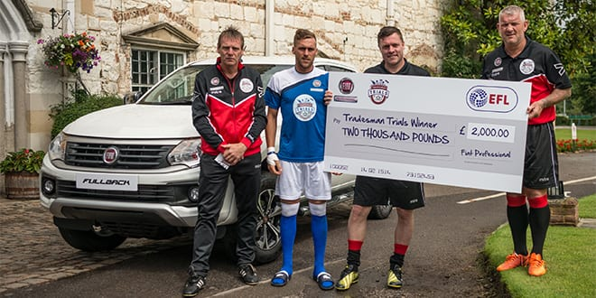 Popular - Plasterer wins Fiat Professional Tradesman Trials