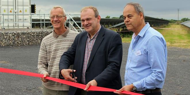 Popular - Sir Ed Davey opens Bristol's second community-owned Solar Park