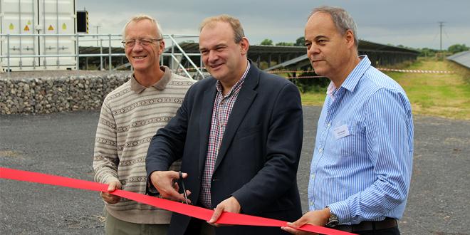 Ed Davey solar farm
