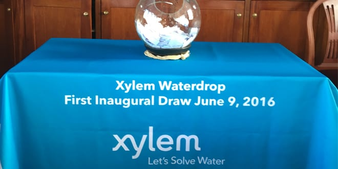 Popular - First three Xylem Waterdrop winners from the UK announced