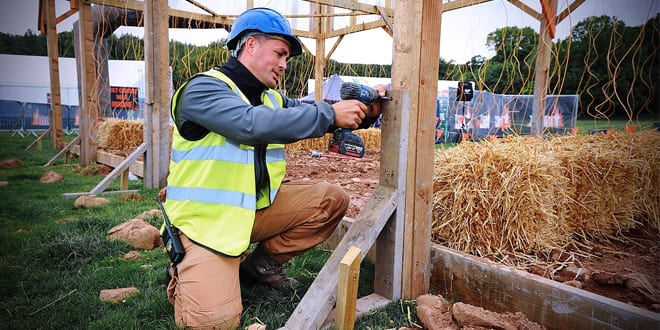 Popular - Bosch Power Tools used to build Tough Mudder obstacles