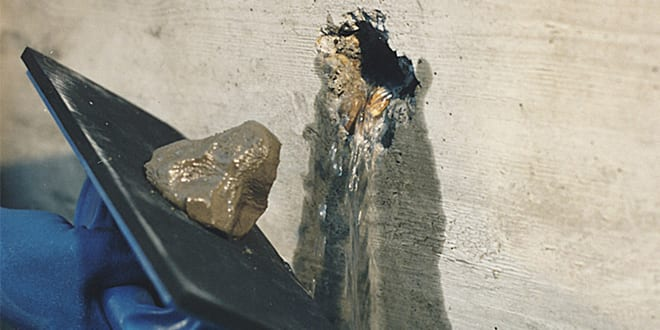 Popular - New 'water stopper' Vandex Plug can stop leaks fast