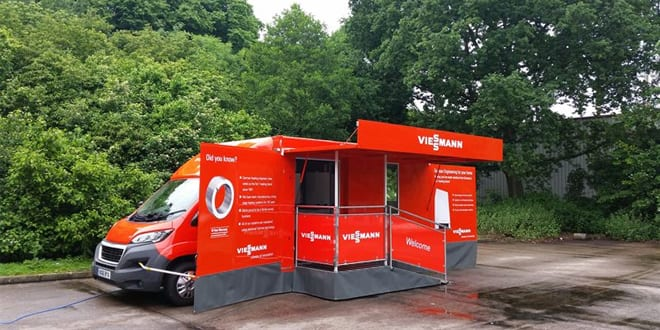 """Popular - Viessmann's Infomobile is hitting the road to demonstrate """"leading-edge technologies"""" to installers"""
