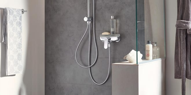 """Popular - Upgrading a shower has """"never been easier"""" with GROHE's Flex shower system"""