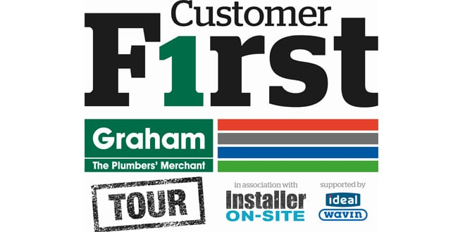 Popular - Graham kicks off new Customer F1rst Tour