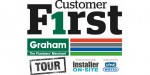 Graham kicks off new Customer F1rst Tour