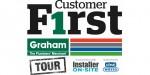 Graham kicks off new Customer F1rst Tour