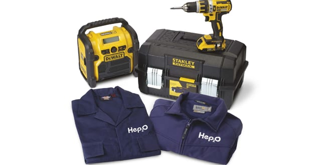 Popular - Win great gear with Hep2O