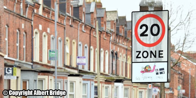 Popular - 4 in 10 drivers admit to ignoring 20mph speed limits