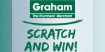 Win a holiday this heating season with Graham's new scratch card promotion