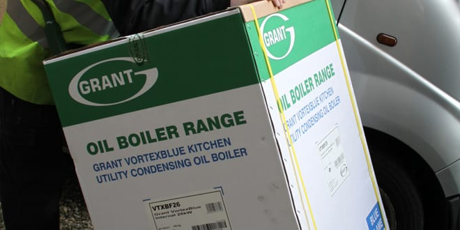 Popular - More than one in every two oil boilers installed in the UK is a Grant Vortex