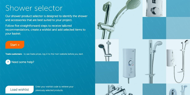 PC shower selector web