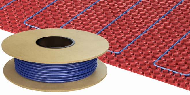 Popular - Warmup DCM-PRO system offers a fast solution for the installation of electric underfloor heating