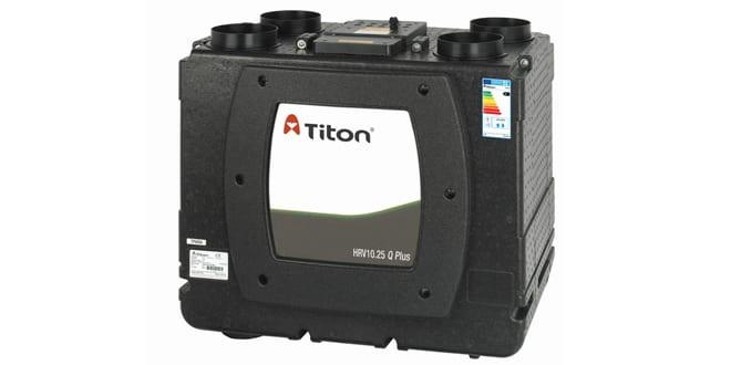 Popular - Titon launches HRV 10.25 Q Plus MVHR unit