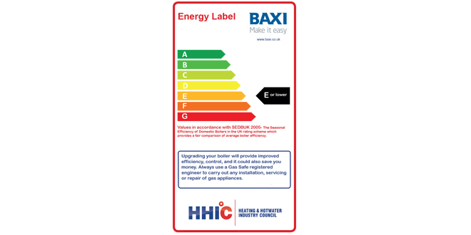 baxi retro label