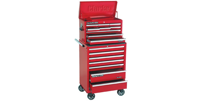 Popular - Keep tidy with Clarke Tool Chests & Cabinets