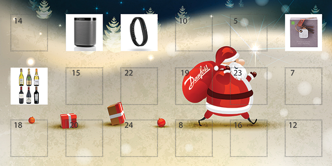 danfoss advent calander