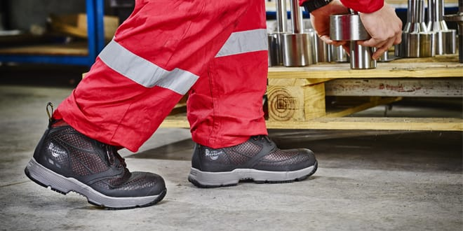 Popular - Win 1 of 4 Oxblood Calamus safety boots from the revolutionary new DM's Lite collection