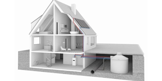 """Popular - First home in Scotland adopts """"heating with ice"""" technology"""