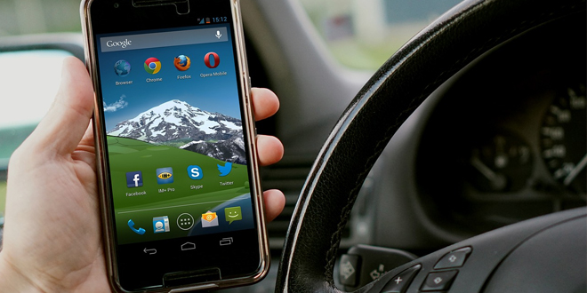 phone driving web