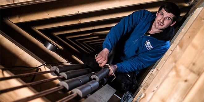 watersafe plumber lagging