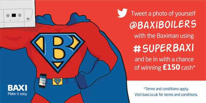Popular - Installers can get a £150 Christmas bonus from Baxi with the 200 and 400 promotion