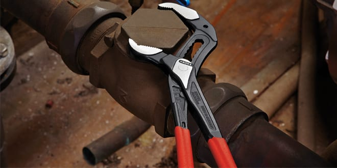 Popular - KNIPEX Alligator Water Pump Pliers are engineered to eliminate hand injuries