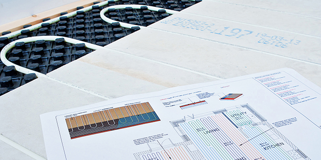 Four key stages to Underfloor Heating design