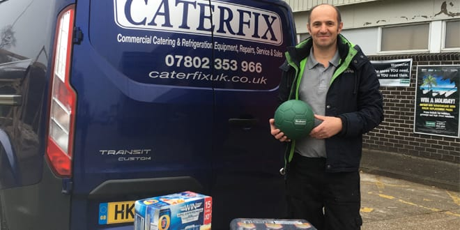Popular - Southampton installer beats Graham 'Game of Throne' and wins 75kg of beer