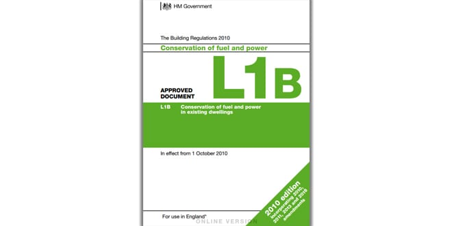 """Popular - Baxi """"strongly supports"""" Government proposals to change Part L of the Building Regs"""