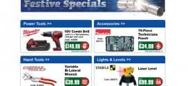 Christmas deals on offer at Plumb Parts and Drain Center